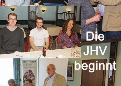 Die JHV beginnt